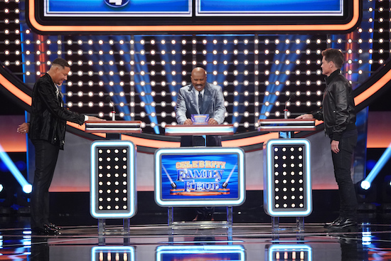 CELEBRITY FAMILY FEUD, LEGENDS OF TOMORROW, and THE CHASE
