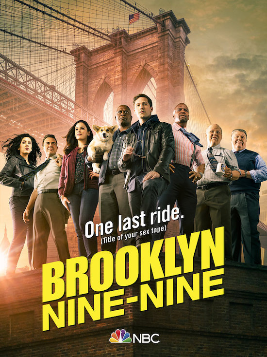 Brooklyn Nine-Nine season 8 poster